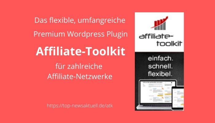 Affiliate-Toolkit Premium Wordpress Plugin
