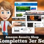 AMAZON AFFILIATE-SHOP im 3er Pack